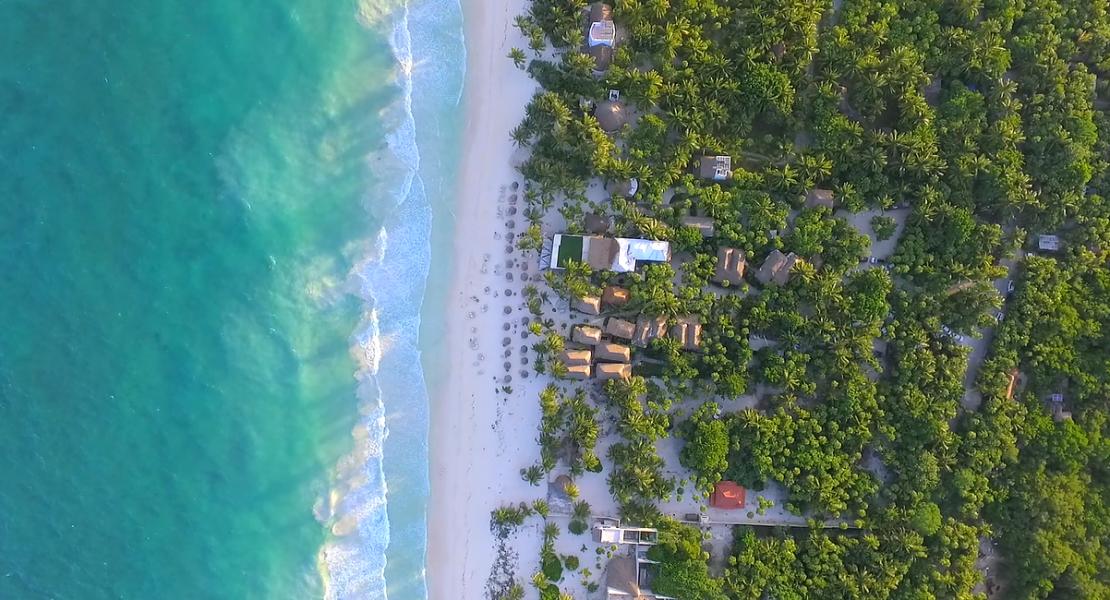 Tulum beach, tulum jungle, Sian Ka'an Los Amigos Beach, Los Amigos Tulum