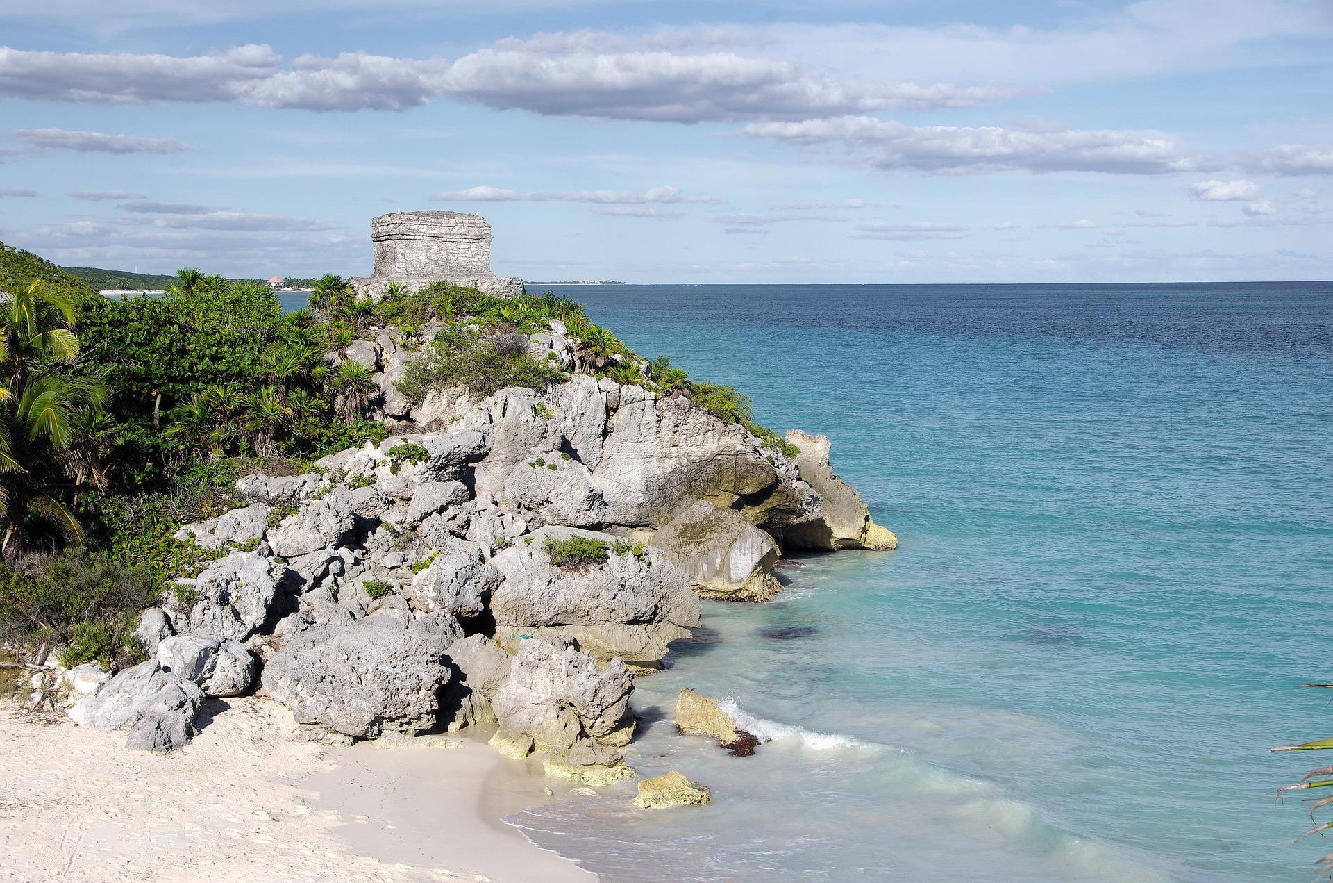 Tulum, Riviera Maya, playa, mayas