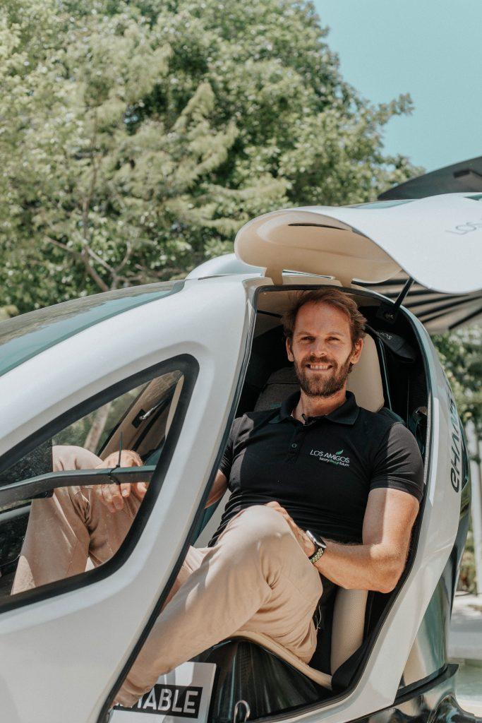 dron de pasajeros mexico