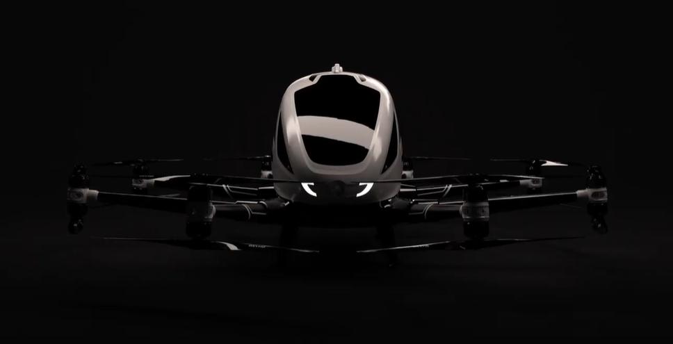 dron de pasajeros